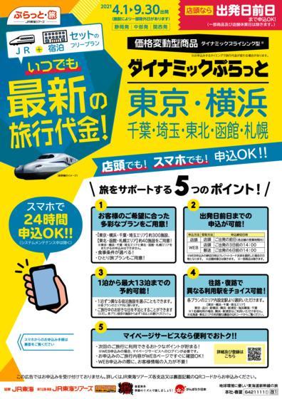 ダイナミックぷらっと 東京・横浜・千葉・埼玉・東北・函館・札幌