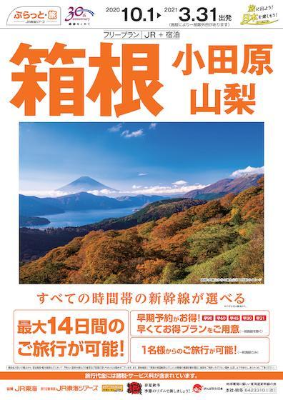 フリープラン箱根・小田原・山梨