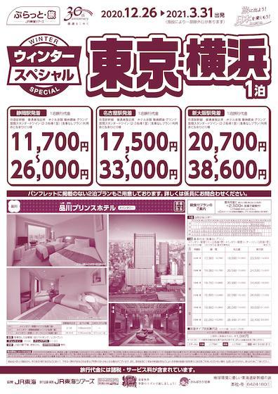 ウィンタースペシャル 東京・横浜 1泊