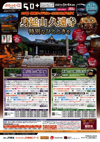 25周年 特急ワイドビューふじかわ号で行く 身延山久遠寺で特別なひとときを【添乗員同行プラン】